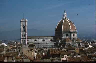 View of Brunelleschi's dome