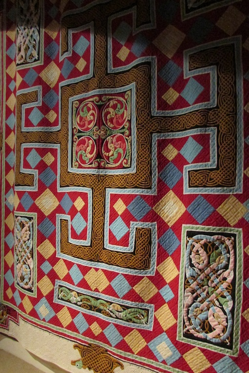 Carpet page quilt by Joan Tunstall of Devon