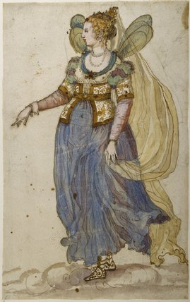Lady masquer by Inigo Jones.