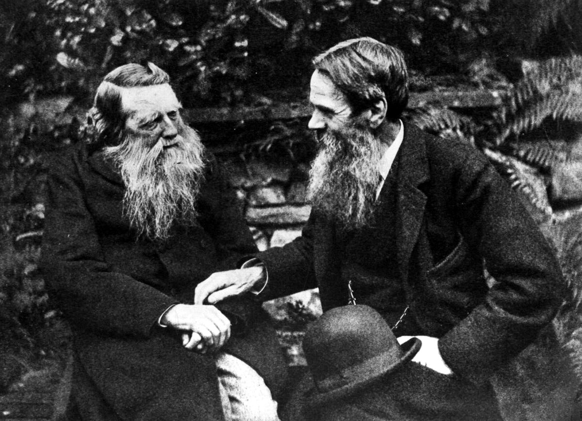 John_Ruskin_and_William_Holman_Hunt