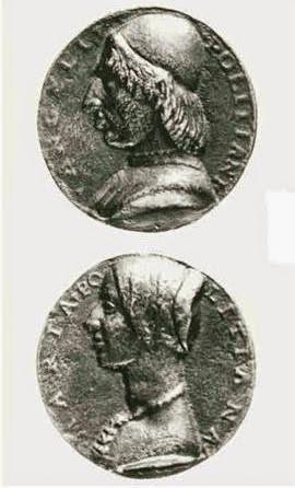 Maria Poliziana Angelo's medal.JPG